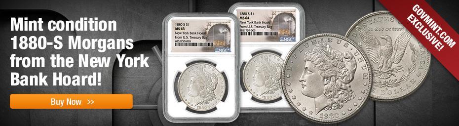 New York Bank Hoard 1880-S