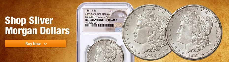 Shop Silver Morgan Dollars