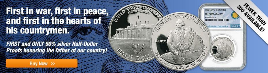 1982 George Washington Half-Dollar Proofs!