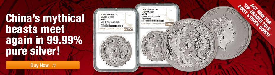 Shop Dragon and Tiger coins now!