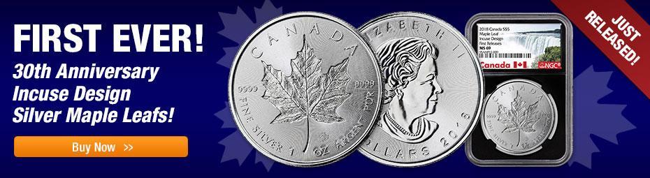 Silver Incuse Maple