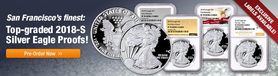 2018-S Silver Eagle Proofs