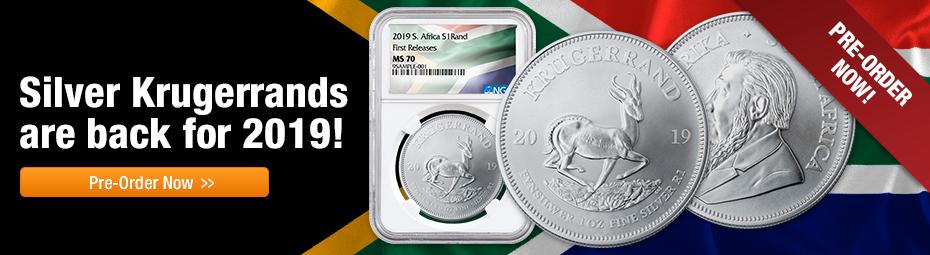 2019 Silver Krugerrands