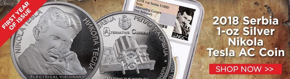 A new series honoring Nikola Tesla!
