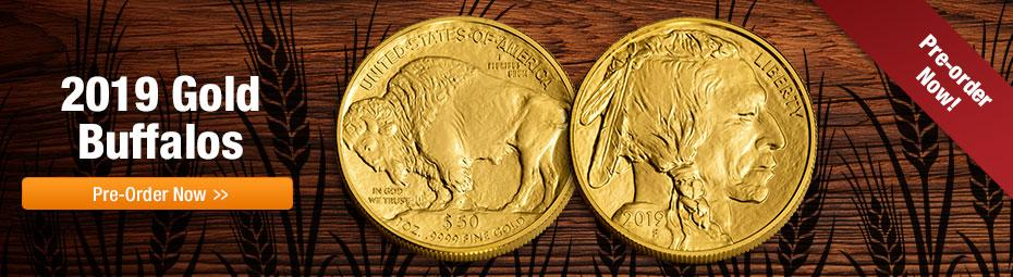 American Gold  Buffalo!