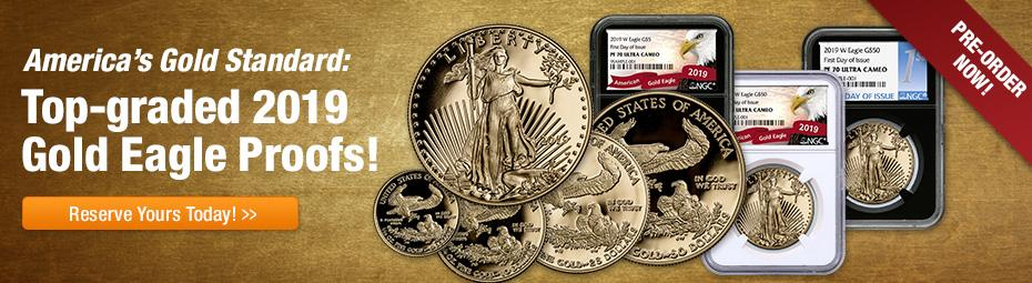 Shop 2019 American Gold Eagle Proofs!