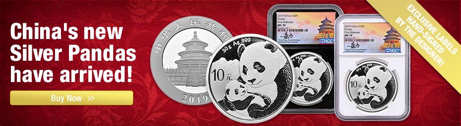 2019 Tong Fang Signed Pandas