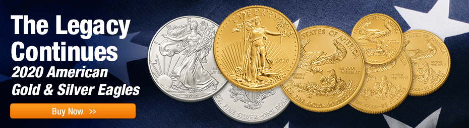 2020 American Silver and Gold Eagles