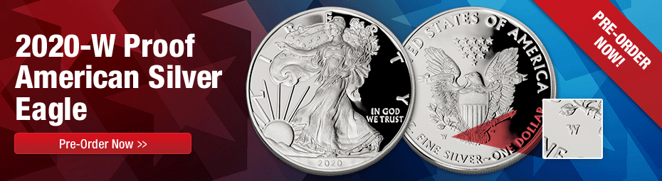 2020-W Proof Silver Eagles