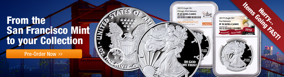 2019-S Proof Silver Eagles
