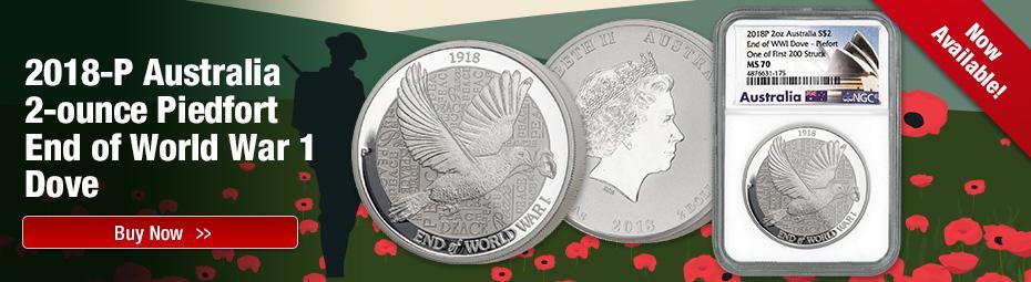 Shop Australia End of World War 1 Doves Now!