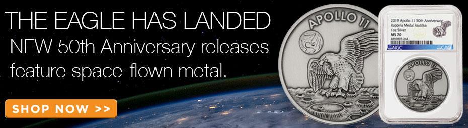 Apollo Space-Flown Re-strikes!