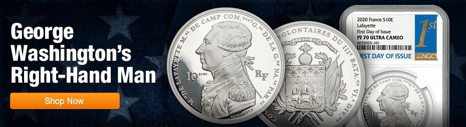 2020 22.2-Gram Silver Lafayette FDI Proofs