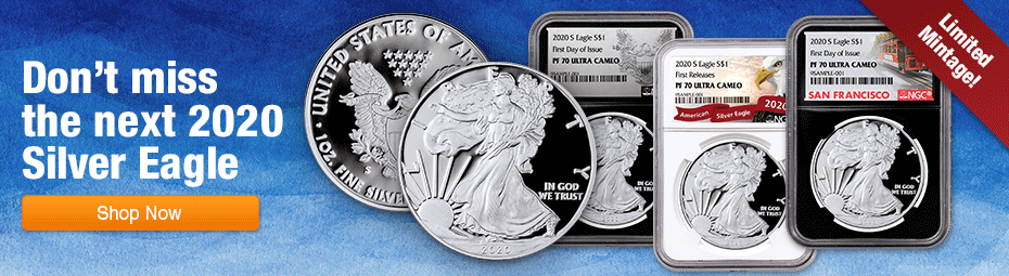2020-S San Francisco Proof Silver Eagle