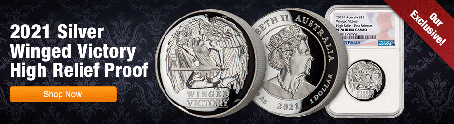 2021 Winged Victory High Relief Proof