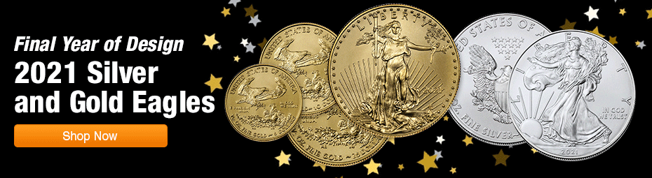 Last Year of Issue: 2021 American Eagles