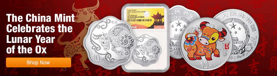 2021 Lunar Coins focus on Chinese Ox Coin