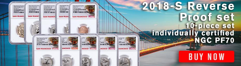 Order the NGC-Graded Reverse Proof Set now!