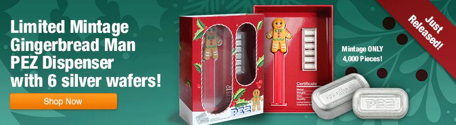 Pez Gingerbread Man Dispenser