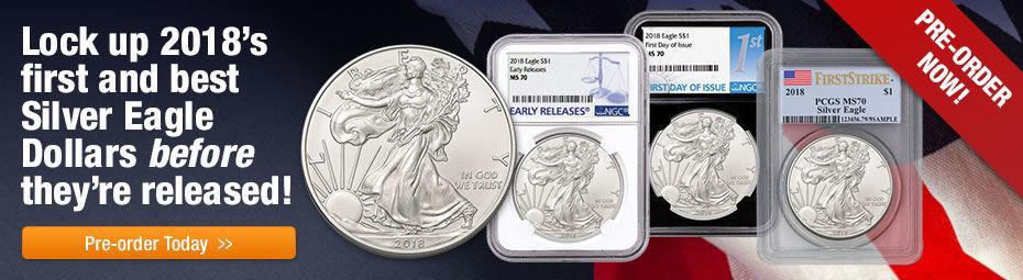 2018 Silver Eagle Graded