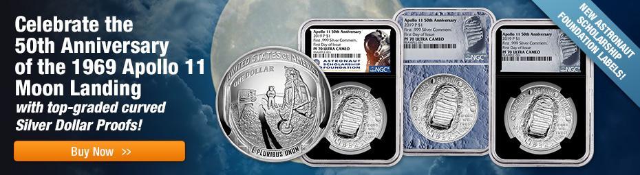 Shop US Mint Apollo 11 Commemorative Proofs!