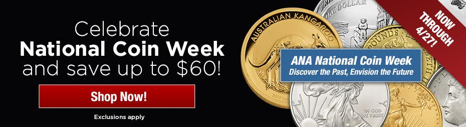 National Coin Week Sale