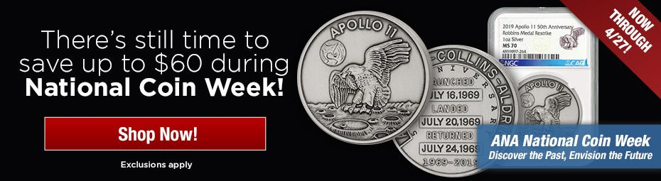 Apollo 11 Silver Back in Stock