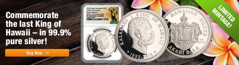 2018 Royal Hawaiian Mint