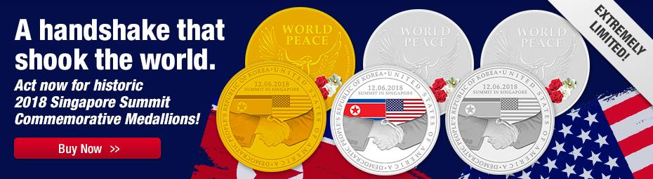 Shop official Singapore Medallions now!