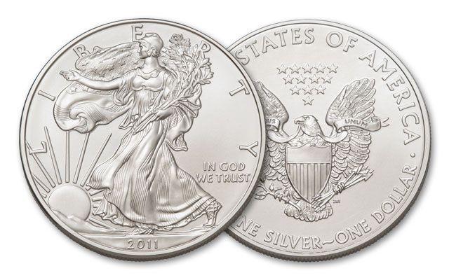 2011 1 Dollar 1-oz Silver Eagle BU