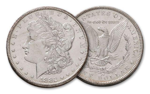 1882-CC Morgan Silver Dollar BU
