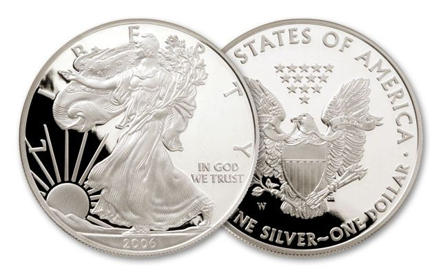 2006-W 1 Dollar 1-oz Silver Eagle Proof