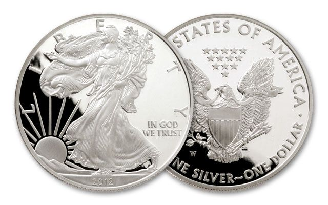 2012 1 Dollar Silver Eagle Proof
