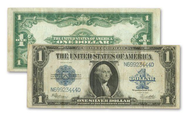 1923 1 Dollar Silver Certificate VF