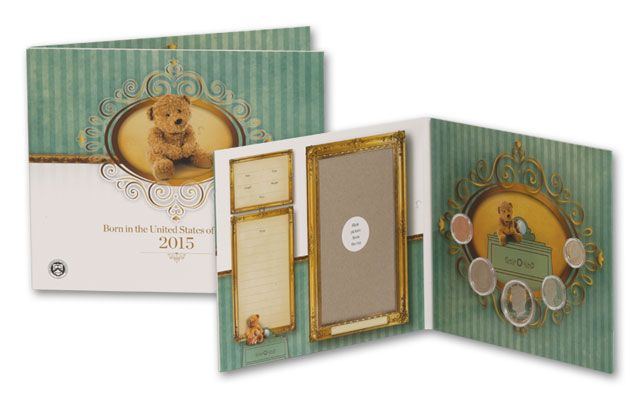 2015 U.S. Mint Birth Set