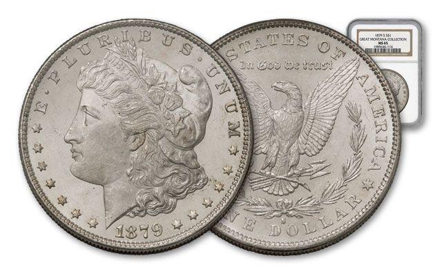 1879-S Morgan Silver Dollar NGC MS65 - Great Montana Collection