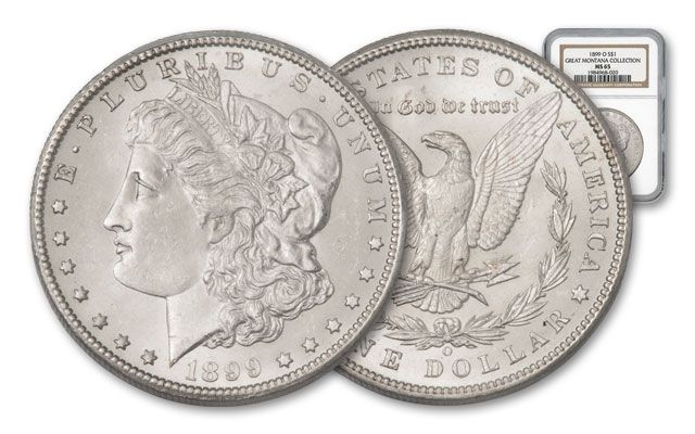 1899-O Morgan Silver Dollar NGC MS65 - Great Montana Collection