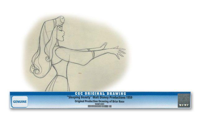 1959 Disney Original Drawing - Sleeping Beauty
