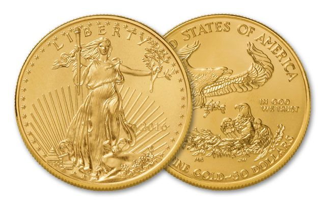2016 50 Dollar 1-oz Gold Eagle BU