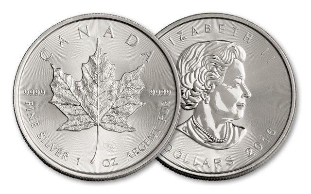 2016 Canada 5 Dollar 1-oz Silver Maple Leaf
