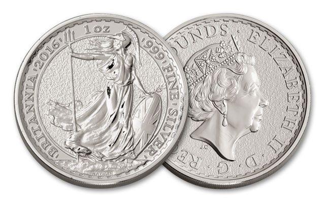 2016 Great Britain 1-oz Silver Britannia