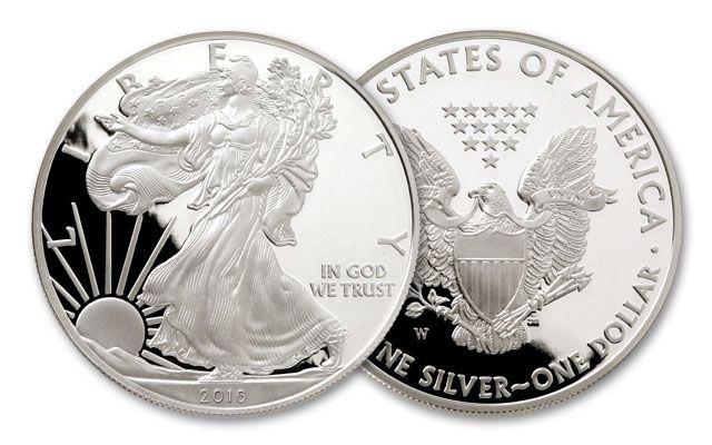 2016-W 1 Dollar 1-oz Silver Eagle Proof