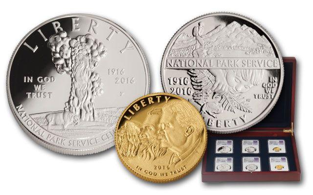 2016 National Park Commemorative 6 Pc Set NGC MS70/PF70 FDI Jones Signed