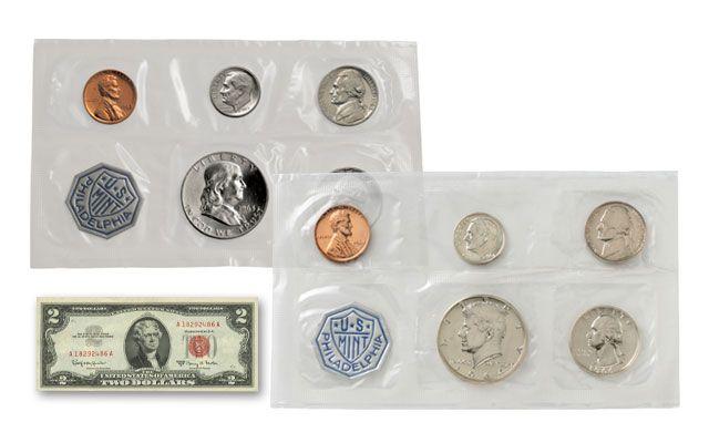 1963-1964 2-Piece United States Proof Set