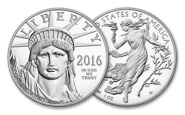 2016-W 100 Dollar 1-oz Platinum Eagle Proof
