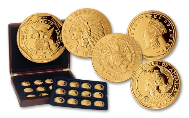 Smithsonian American Classics 24 Piece Collection Proof