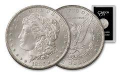 1883-CC Morgan Silver Dollar Uncirculated GSA