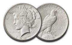 1927-P Peace Dollar AU