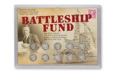 1892-1916 10 Cent Barber Battleship Fund Set - 10 Pieces