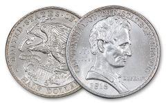 1918-P 50 Cent Illinois Centennial BU